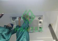 Thay lọc HEPA cho xưởng sản xuất điện tử